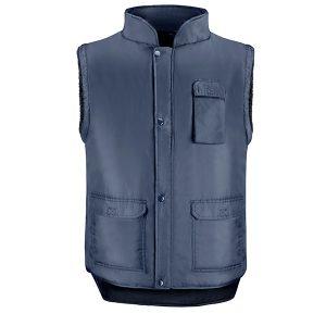 Chaleco 4 bolsillos Vesin azul