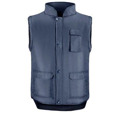 Chaleco de trabajo 4 bolsillos Vesin azul