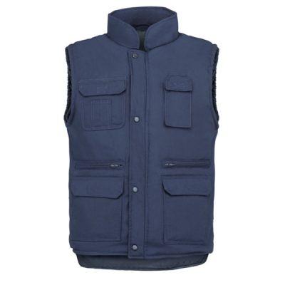 Chaleco de trabajo 7 bolsillos Vesin azul