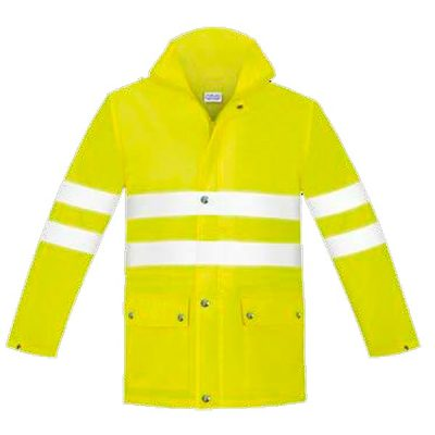 Chaqueta de lluvia alta visibilidad Vesin amarillo