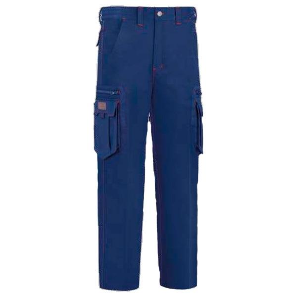 Pantalón de trabajo  con 8 bolsillos multicremalleras vesin azul marino
