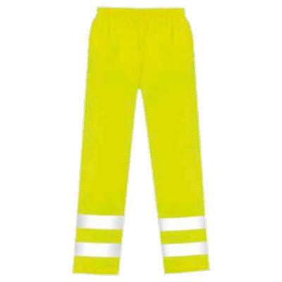Pantalón de lluvia alta visibilidad Vesin amarillo