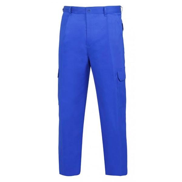 Pantalón de trabajo  de trabajo  de trabajo  multibolsillos con goma acolchado vesin azulina