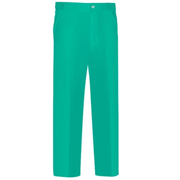 Pantalón de trabajo  de trabajo  de trabajo  pijama con goma y cremallera  Vesin verde