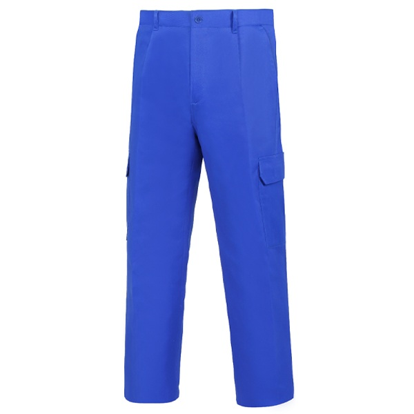 Pantalón de trabajo  para trabajar  multibolsillos Vesin Azulina L-500 PGM31-AZ