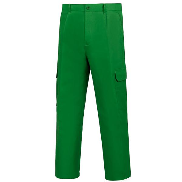 Pantalón de trabajo  para trabajar  multibolsillos Vesin Verde L-500 PGM31-VE