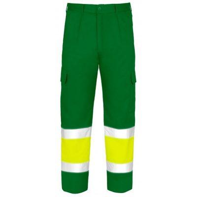 Pantalón Acolchado Multibolsillos AV Vesin Verde