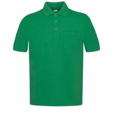 Polo manga corta con bolsillos Vesin Verde