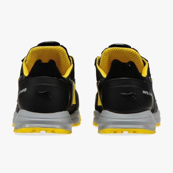 Calzado de seguridad Diadora Glove MDS Matryx Low S1P HRO SRC Amarillo / Negro Unisex