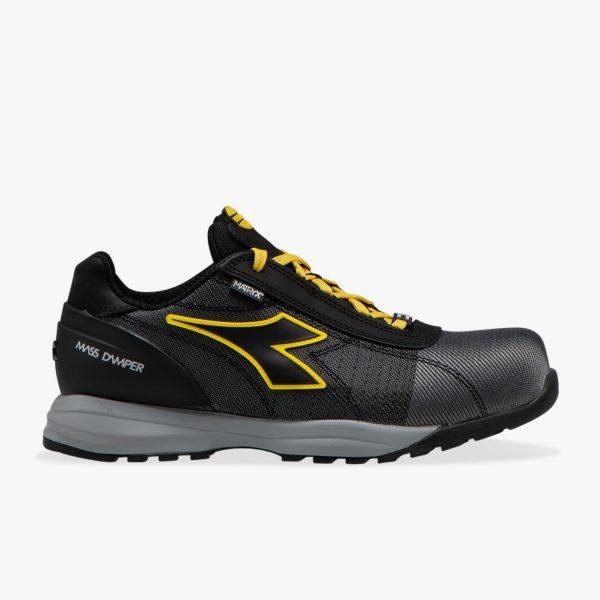 Calzado de seguridad Diadora Glove MDS Matryx Low S3 HRO SRC Gris / Negro Unisex