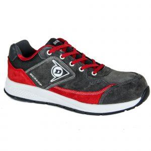 Calzado de seguridad Dunlop Flying Luka Rojo S3 HRO