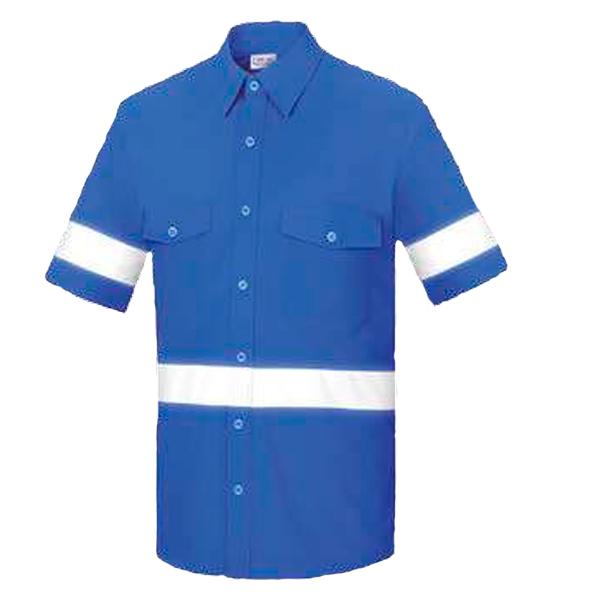 Camisa manga corta con dos bolsillos Vesin azulina L-500