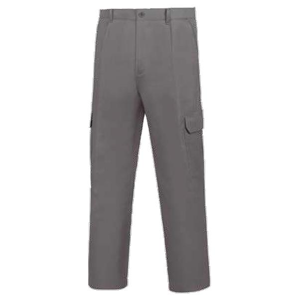 Pantalón de trabajo multibolsillos Vesin Gris L-1000.