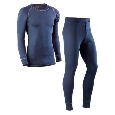 Camiseta y pantalón interior térmico Juba 730DN UNDERWEAR Azul Marino
