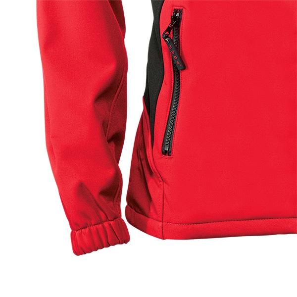 Chaqueta cortavientos Juba 894 Rojo-Negro