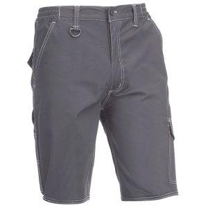 Pantalón corto multibolsillos Juba 152 FLEX Gris