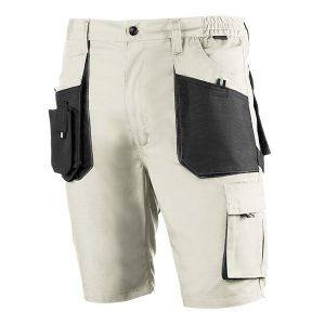Pantalón corto multibolsillos Juba 972 TOP RANGE Negro - Beige