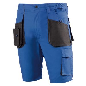 Pantalón corto multibolsillos Juba 992 TOP RANGE Negro - Azulina