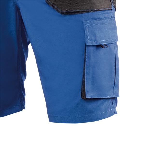 Pantalón de trabajo  de trabajo  corto multibolsillos Juba 992 TOP RANGE Negro - Azulina