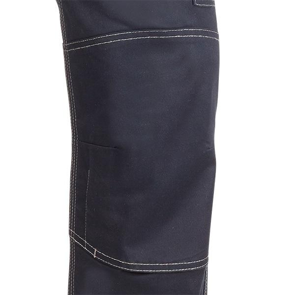 Pantalón de trabajo  de trabajo  multibolsillos Juba 121 Flex Light Azul Marino