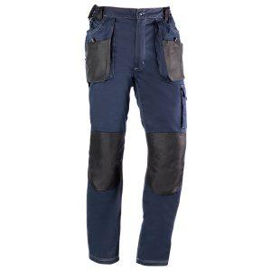 Pantalón multibolsillos Juba 181 FLEX Azul Marino - Negro