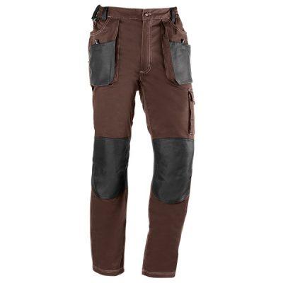Pantalón de trabajo  de trabajo  multibolsillos Juba 191 FLEX Marrón - Negro
