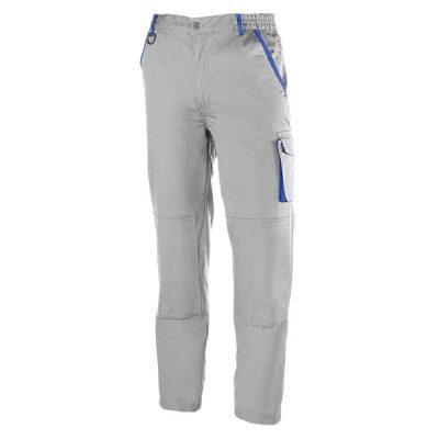 Pantalón de trabajo  de trabajo  multibolsillos Juba 950 PREMIUM Gris - Azulina