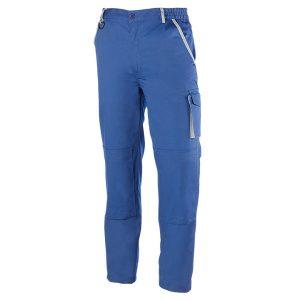 Pantalón multibolsillos Juba 951 PREMIUM Azulina - Gris