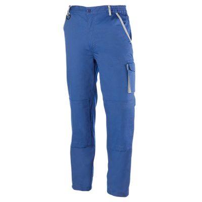 Pantalón de trabajo  de trabajo  multibolsillos Juba  951 PREMIUM Azulina - Gris