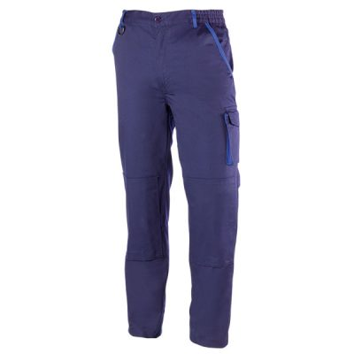 Pantalón de trabajo  de trabajo  multibolsillos Juba  952 PREMIUM Azul marino - Azulina