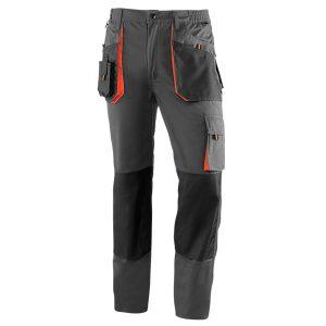 Pantalón multibolsillos Juba 961 TOP RANGE Gris - Negro - Naranja