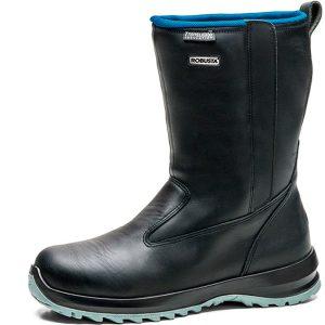 Calzado de seguridad Robusta Glaciar Black S2 CI HRO SRC