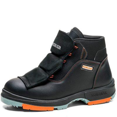 Calzado de seguridad Robusta Riesgos especiales Marfil Metaergonomic S2 CI HI HRO M SRC