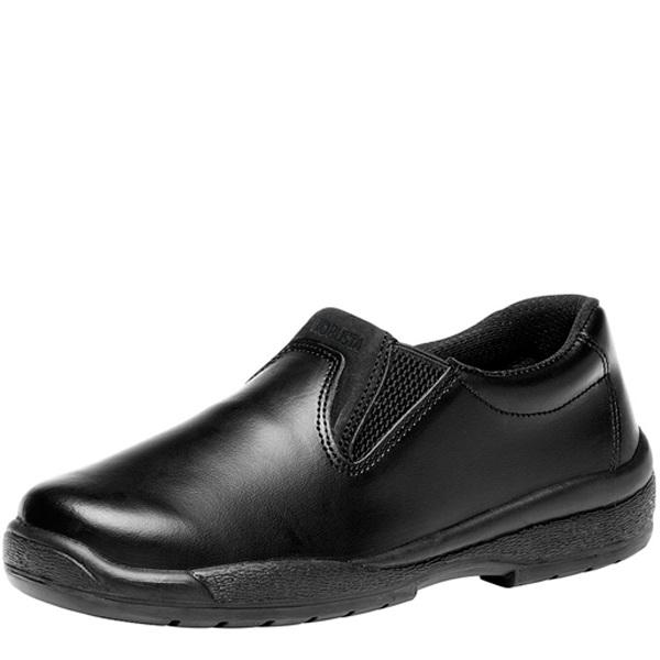 Calzado de seguridad sanitario Robusta Carmen Negro Sin Perforar O2 FO CI SRC