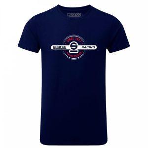 Camiseta Sparco 01260BM 1977
