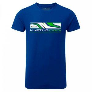 Camiseta Sparco 01261AZ K-CREW