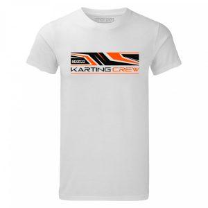 Camiseta Sparco 01261BI K-CREW