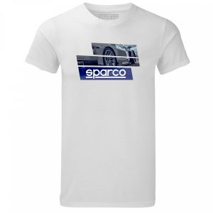Camiseta Sparco 01262BI TRACK