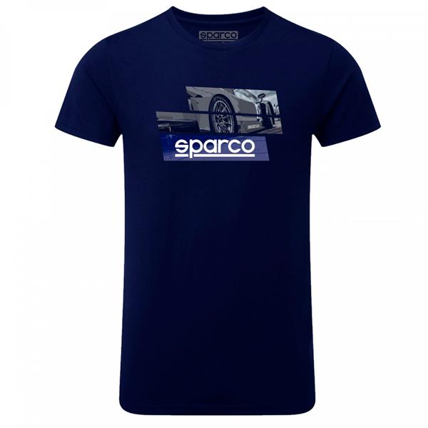 Camiseta Sparco 01262BM TRACK