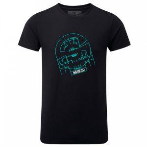 Camiseta Sparco 01263NR TRON